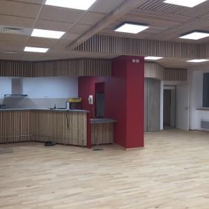 La nouvelle salle polyvalente