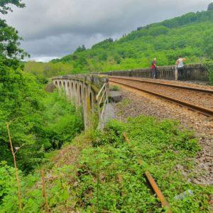 Viaduc de Bussy Varache dont un pilier fut détruit par Georges Guingouin le 13 mars 1943